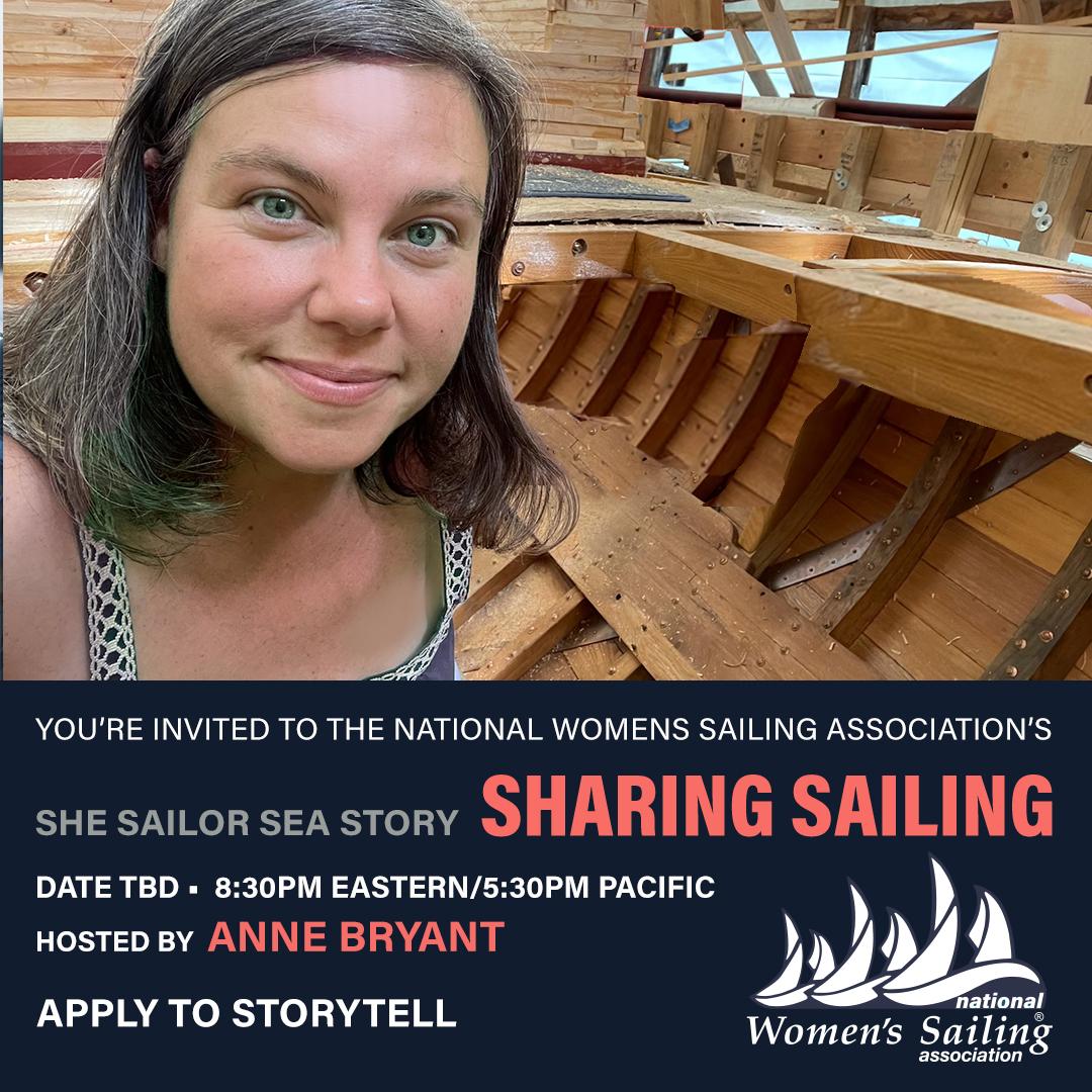WIND She Sailor Sea Story with Skipper Jenn Harakness